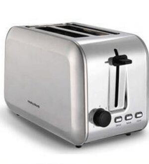 Morphy Richards Essentials 2 Slice Toaster Stainless Steel 980552