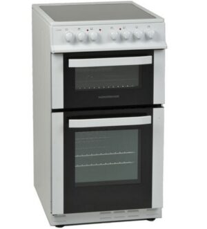NordMende 50cm Electric Cooker with Ceramic Hob CTEC51WH