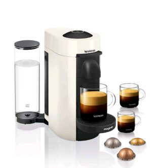 Magimix Vertuo Plus Nespresso Coffee Machine White 11398