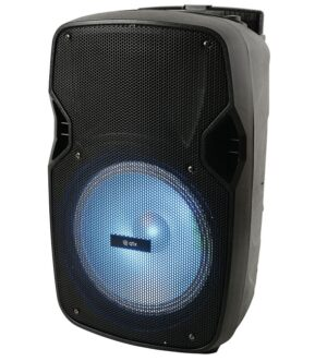 QTX Portable Bluetooth Speaker with Lights 178861