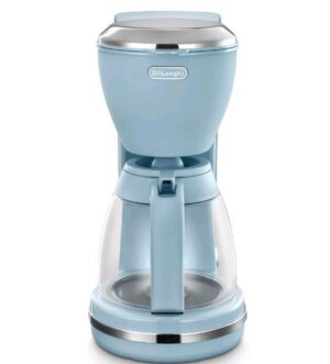 Delonghi Argento Flora Filter Coffee Machine Agave Blue ICMX210AZ