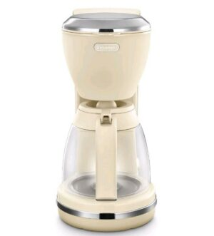 Delonghi Argento Flora Filter Coffee Machine Beige ICMX210BG