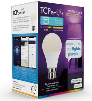 TCP Smart Wi-fi Colour Changing Bulb B22
