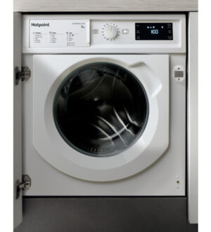 Hotpoint Built-in 9kg 1400 Spin Washing Machine | BI WMHG 91484 UK