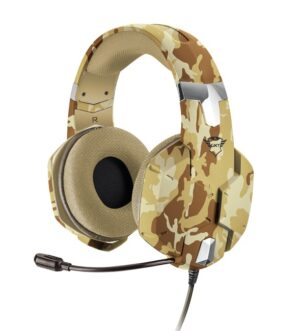 Trust GXT 322D Carus Gaming Headset – Desert Camo T22125