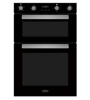 Belling Built-in Double Oven | Black | BI903FPBLK