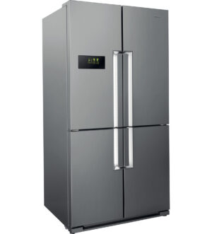 Hotpoint American Style Fridge Freezer | Stainless Steel | HPSN 4T A+ IN