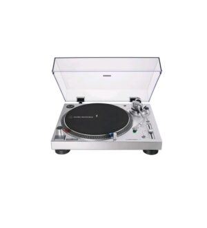 Audio Technica Direct-Drive Turntable (Analog & USB) Silver AT-LP120XUSBHCSV