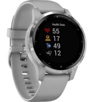 Garmin Vivoactive 4s Powder Grey & Silver | 010-02172-02