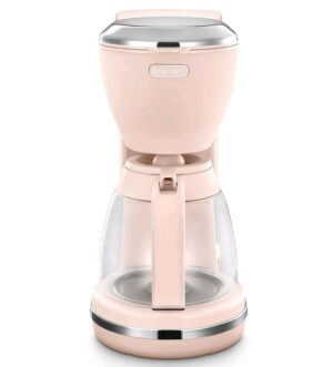 Delonghi Argento Flora Filter Coffee Machine Pink ICMX210PK