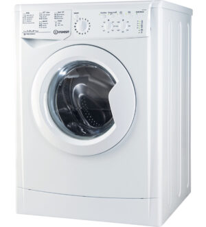 Indesit Ecotime 7Kg Washing Machine 1400 Spin White | IWC 71452 ECO .M