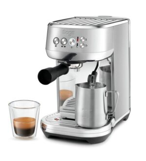 Sage The Bambino Plus Coffee Machine Stainless Steel | SES500BSS4GUK1