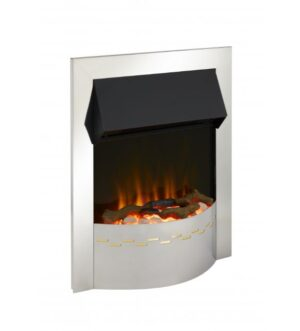 Dimplex Ellister Chrome Optiflame Electric Inset Fire 2Kw