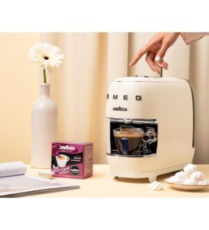 Lavazza Smeg Capsule Coffee Machine Cream | 18000463