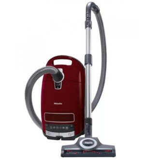 Miele Complete C3 Cat & Dog PowerLine 900W Bagged Vacuum Cleaner | Tayberry Red