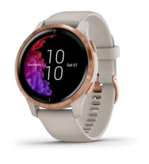 Garmin Venu Granite Sand & Rose Gold | 010-02173-22