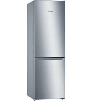 Bosch Serie | 2 Fridge Freezer 176x60cm | Stainless steel | KGN33NLEAG