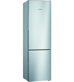 Bosch Serie | 4 Fridge Freezer 201x60cm | Stainless steel | KGV39VLEAG
