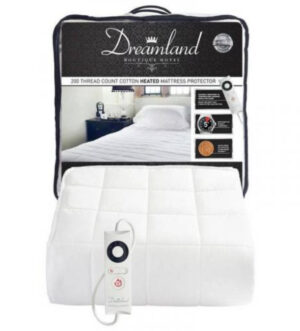 Dreamland Boutique Heated Mattress Protector Double | 16700D
