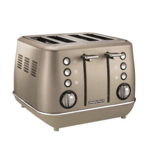 Morphy Richards Evoke Special Edition 4 Slice Toaster Platinum | 240103