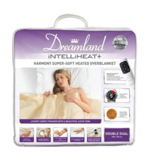Dreamland Double Overblanket Dual Control | 16453D