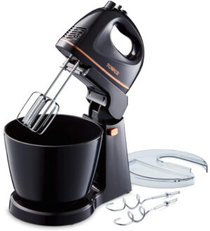 Tower 2.5L Hand & Stand Mixer 300W Black | T12039
