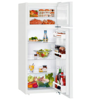 Liebherr Fridge Freezer | Freezer On Top | White | CT-2531
