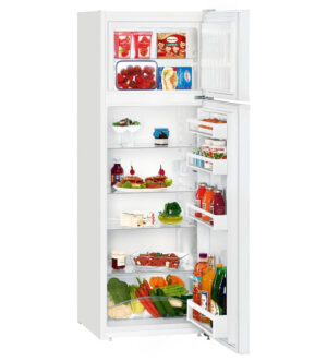 Liebherr Fridge Freezer | Freezer On Top | White | CT-2931