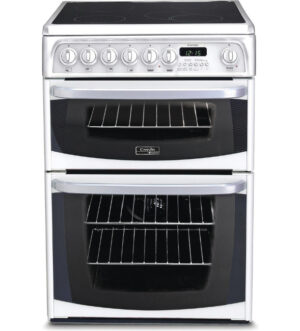 HOTPOINT 60cm ELECTRIC DOUBLE COOKER White   CH60EKW S